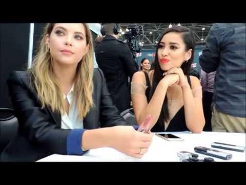 Ashley Benson & Shay Mitchell Talk Pretty Little Liars At New York Comic Con 2015