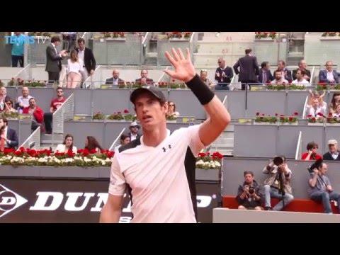 2016 Mutua Madrid Open: Thursday Highlights inc. Djokovic, Nadal & Murray