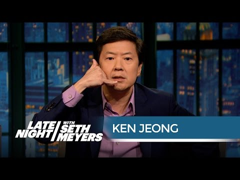 Ken Jeong Provides Free Medical Advice - Late Night with Seth Meyers