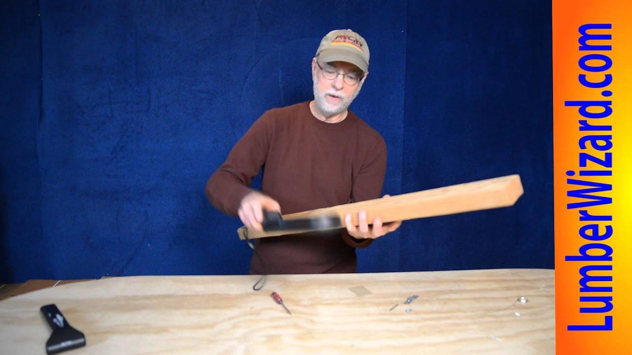 woodworking metal detector