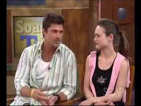 Rebecca Herbst & Greg Vaughan - Soap Talk - May 2005