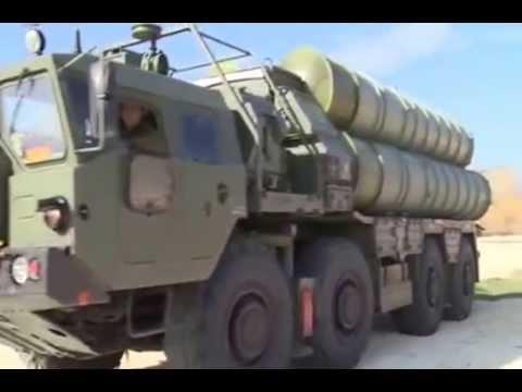 ЗРК С 400 По противовоздушной обороне .В Сирии.