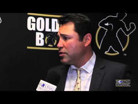 Oscar De La Hoya Canelo Alvarez to HBO better for boxing as a whole