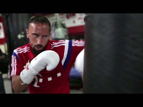 Franck Ribery, der Fighter: Beim FC Bayern München zu Hause | Alis Gleason's Box-Gym in New York