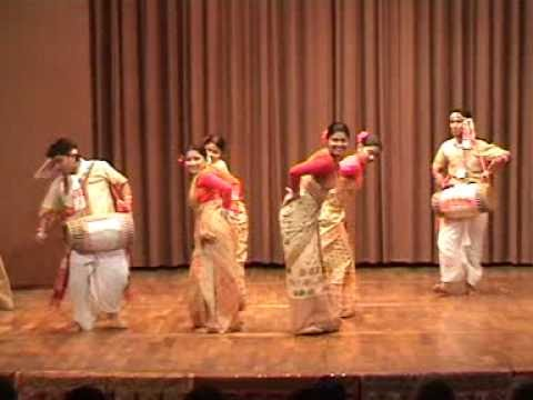 Indian Folk Dances - Bihu From Assam -21 Danceofindia.orggmail video