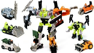 Transformers Power Core Combiners Constructicons Steamhammer Vehicles Combine Robot Car Toys