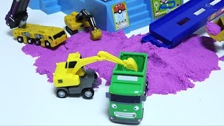 Tayo the Little Bus Friends Colors Sand / Way to Work