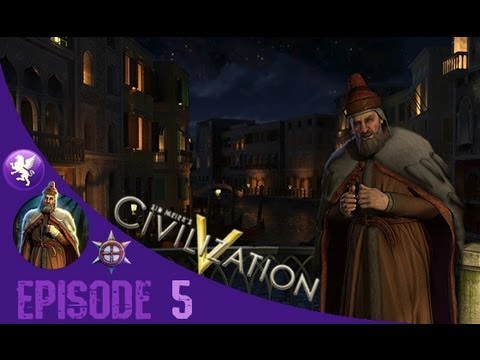 Civilization 5 Brave New World Gameplay: Venice Playthrough Episode 5: Tourism
