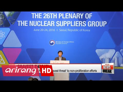 S. Korea's foreign minister says N. Korea poses 'gravest threat' to global non-proliferation regime