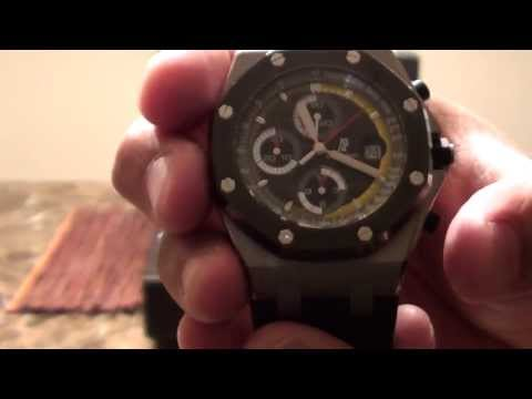 NEW Audemars Piguet Royal Oak Offshore Limited Edition Sebastien Buemi 250 pcs Watch