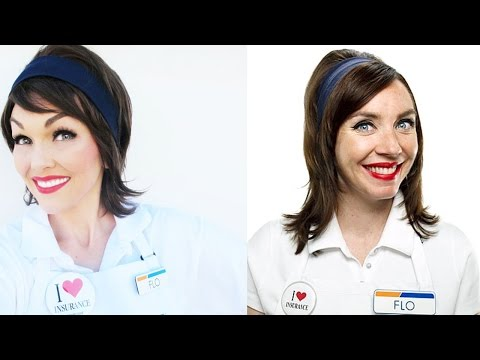 How to Look Like Flo the Progressive Lady