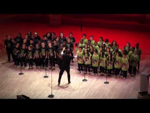 "PS22 Chorus sings ""GAGA MASHUP"" for Lady Gaga!!"