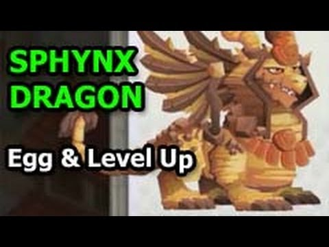 SPHYNX DRAGON Dragon City Egg and Level Up Fast Review