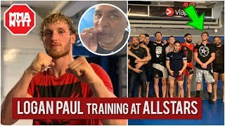 LOGAN PAUL TRAINING FOR KSI REMATCH - TIMELINE REVEALED!