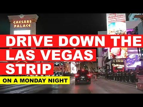 Monday Night Drive Down the Las Vegas Strip Live Stream