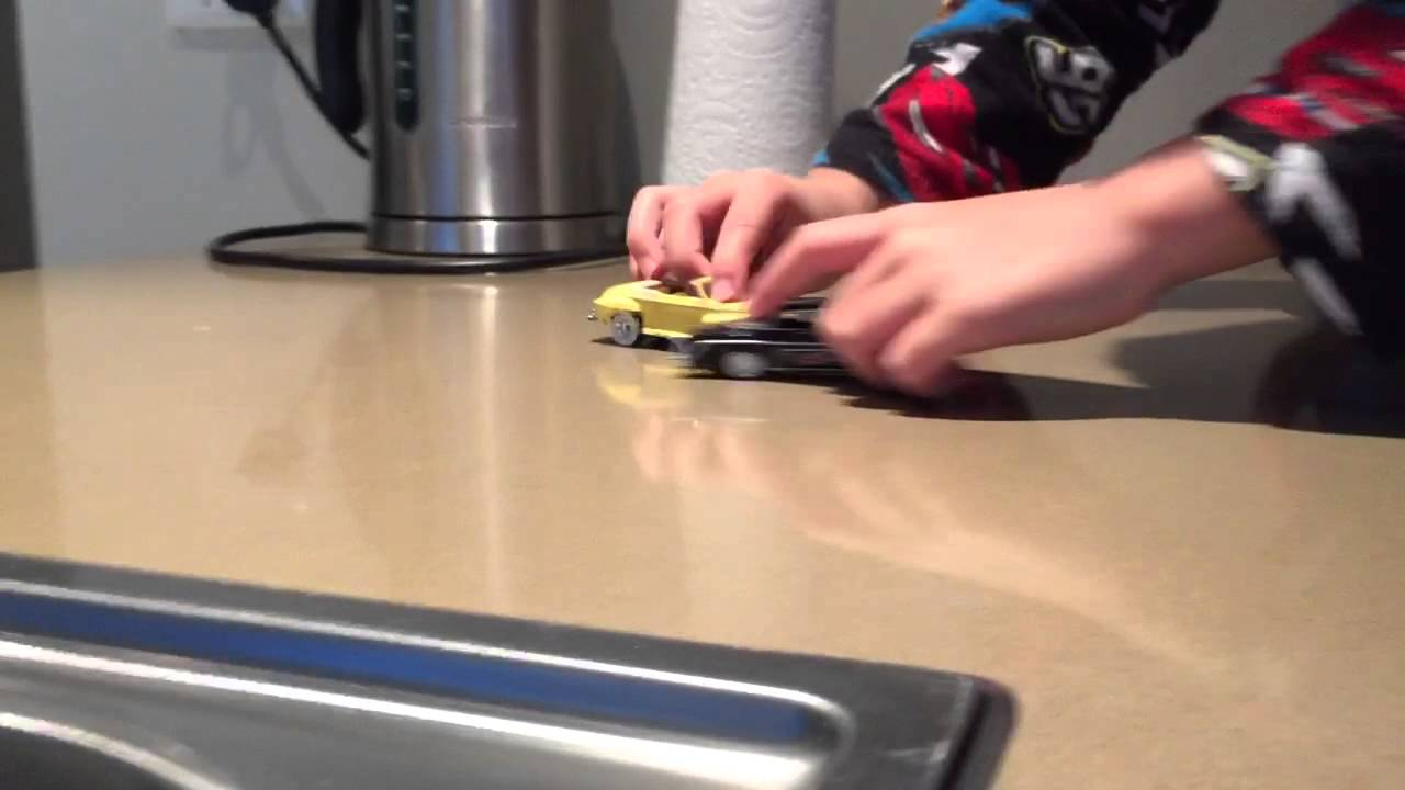 Grease Car Race Grease Lightning Toy Car Race