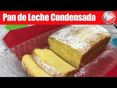 Pan de Leche Condensada - Panque Delicioso - Recetas en Casayfamiliatv