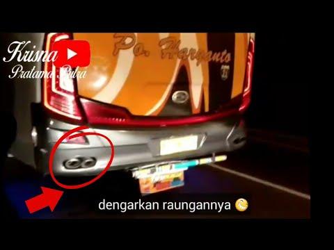 ternyata ini knalpot bus SPOK SPOK ala Po. Haryanto