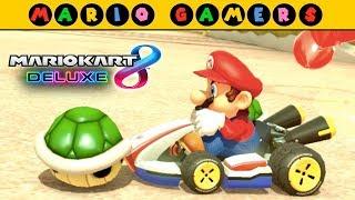 Mario Kart 8 Deluxe - Balloon Battle - Mario Gameplay | MarioGamers