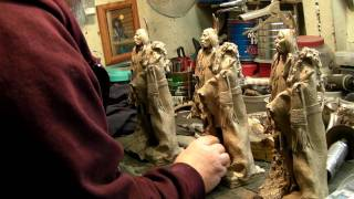 PEACE TALKER - The Process of Coloring the Bronze