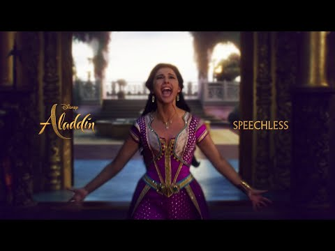 ALADDIN ✨ Naomi Scott - Speechless (Part 1 And 2 In-movie Full Version Mashup)