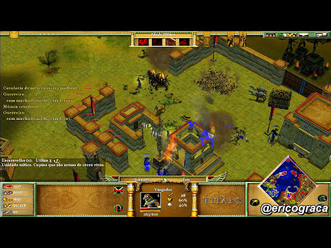 Age of Mythology - The Titans - Campanha AOM (Level 15) - Ep.12