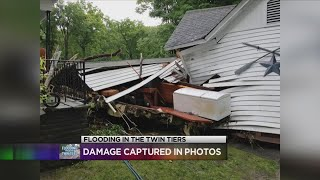 Flooding in the Twin Tiers: Damage captured in photos