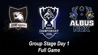 ROX vs ANX | Group Stage Day 1 | World Championship 2016 League of Legends
