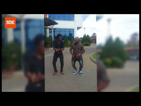 Moji Shortbabaa shows us how to dance to his latest song 'Kuzitoka