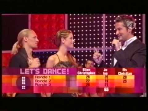 Ellen Petri danst de Rumba in Let's Dance!!!