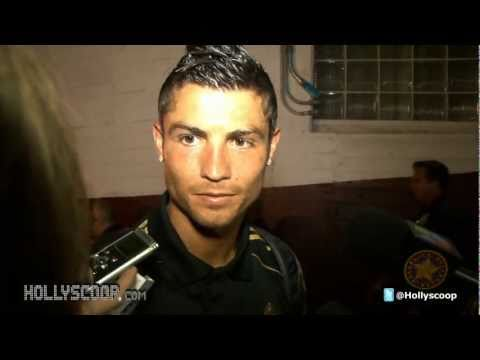 Cristiano Ronaldo And David Beckham On LA GALAXY vs REAL MADRID Match
