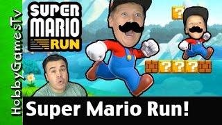 How To Play Super Mario Run! First World Intro HobbyGamesTV