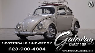 1957 Volkswagen Beetle Oval Window Gateway Classic Cars #446 SCT