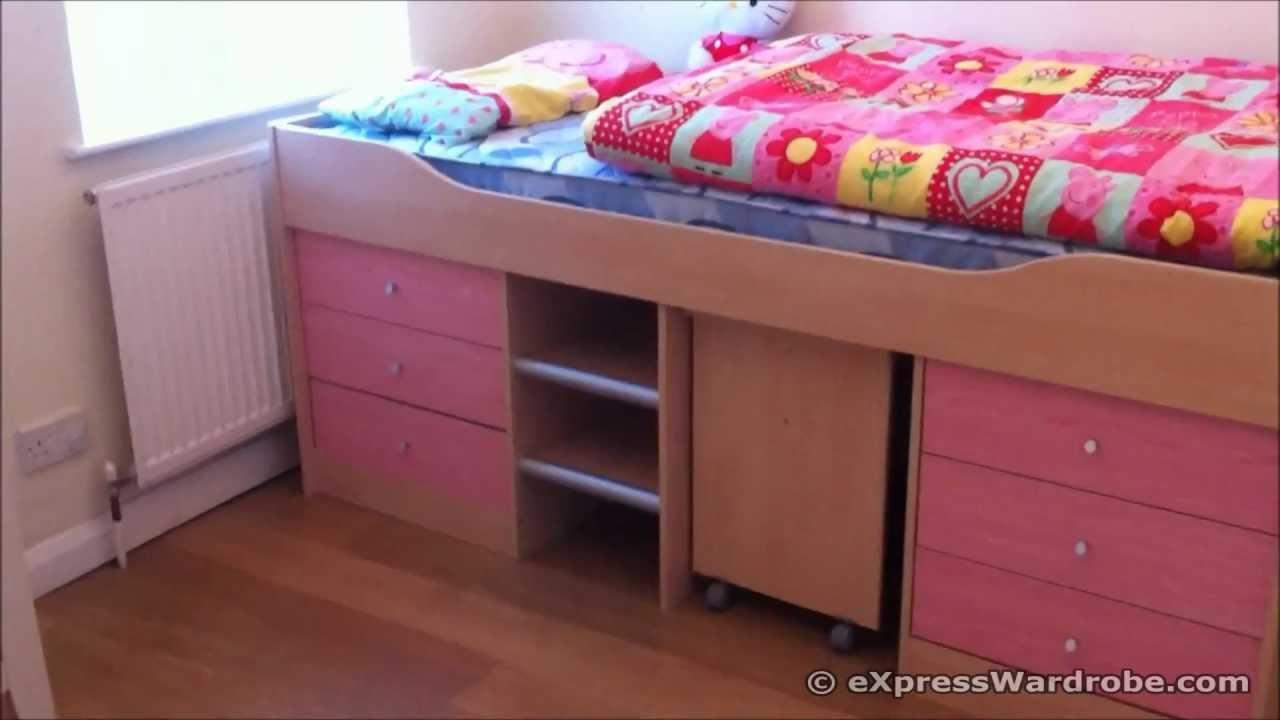 Argos Kids Sleeper Storage Bed With Study Desk