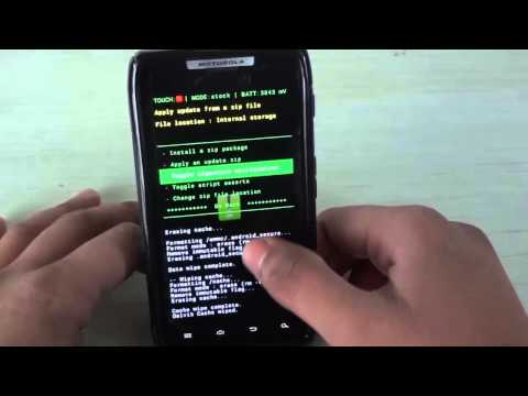 How To Install Official JellyBean (Android 4.1.2) On The Motorola Razr/Droid Razr (Part 2)