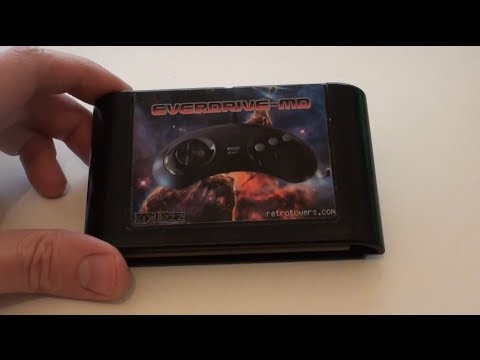 How To Download and Play Sega Megadrive Games from SD Card - Everdrive MD