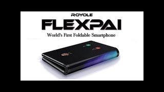 Royole Flexpai - The world's first real foldable phone at CES 2019