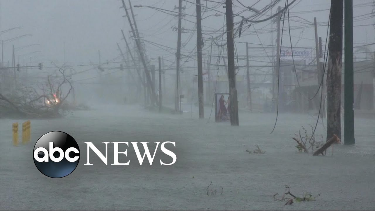 Maria leaves Puerto Rico flooded, without power