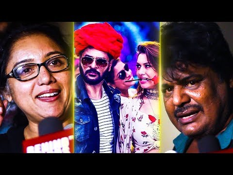 Gulaebaghavali Celebrity Review | Prabhu Deva | Hansika | DC 158