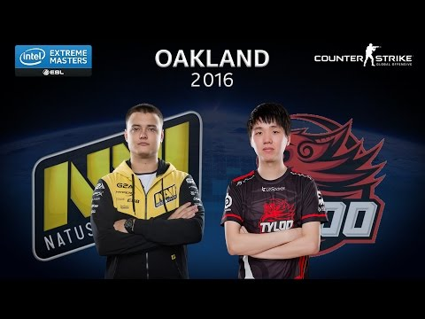 CS:GO - Natus Vincere vs. Tyloo [Overpass] - Group A - IEM Oakland 2016