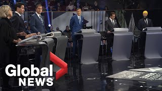 Leaders' Debate: Standout moments from the night
