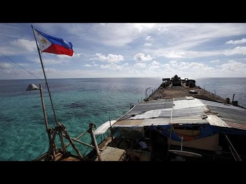 Ayungin Second Thomas Shoal Bãi Cỏ Mây philippine china south sea dispute 中菲仁愛礁之爭