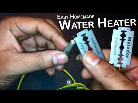 How To Make a Water Heater at Home - Easiest Homemade Water Heater