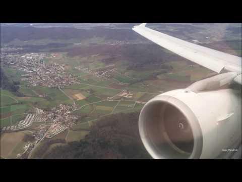 Swiss Air Airbus A321-111 | Zurich to London Heathrow *Full Flight* + Touch & Go!