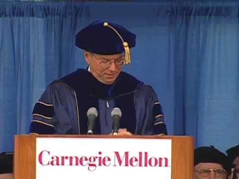 Eric Schmidt's Carnegie Mellon University commencement address