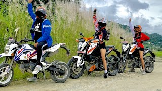 A DAY WITH LADY RIDERS || FUSRE KHOLA VLOG ||
