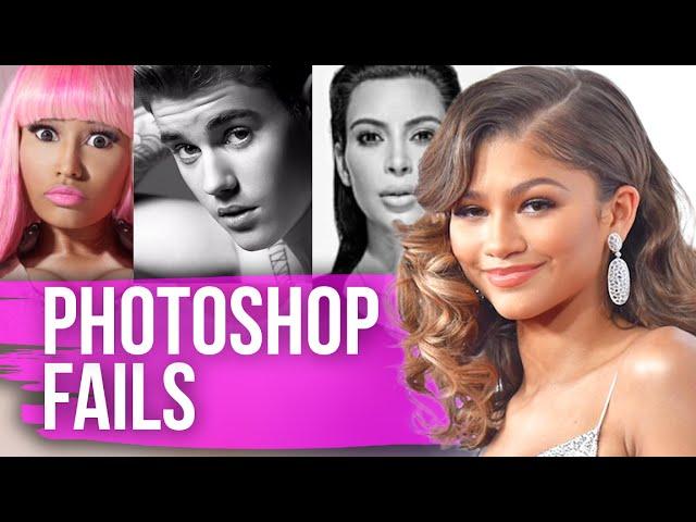 Most SHOCKING Celebrity Photoshop FAILS (Dirty Laundry)