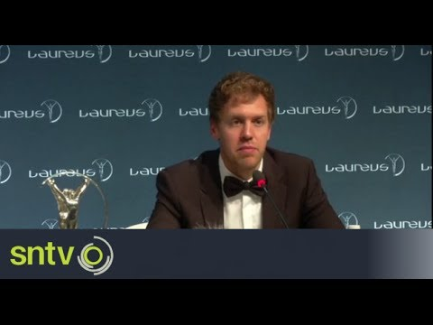 Vettel reflects on 'sportsman of the year' award