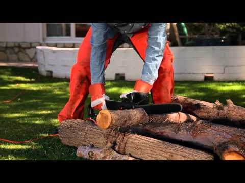 How to Safely Operate Your Electric Chainsaw