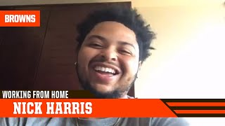 Working From Home: Nick Harris | Cleveland Browns